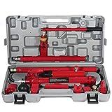 SCITOO Porta Power Hydraulischer Wagenheber-Korpus für Rame, Reparatur-Kits, Auto-Shop, Werkzeugheber für Ladhantler, LKW, Bettentlader, Bauernhof und hydraulische Ausrüstung
