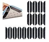 30 Stück Anti Rutsch Teppichunterlage Waschbar Wiederverwendbar Starke Klebrigkeit Keine Spur Antirutschmatte Für Teppich