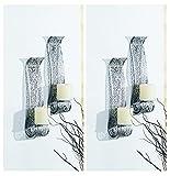 Markenlos Kerzenwandhalter Kerze Wand Kerzenhalter Wandleuchter Wandkerzenhalter Wandlicht (4)