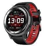 Senbos Smartwatch 1.2 Zoll Touchscreen Aktivitäts-Tracker für Männer IP68 wasserdichte Verbindung...