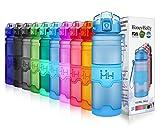 HoneyHolly Sport Trinkflasche 380/500ml/700/1L-BPA frei auslaufsicher/Für...