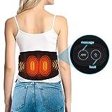Doact Beheizte Vibrationstaille Massagegürtel Taille mit Wärmefunktion,Wärme-Gürtel mit...