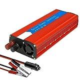 BZMOU Reine Sinus-Wechselrichter 3000W (6000W Peak) Auto-Auto-Energien-Inverter, 12V-220V Reine Sinuswelle beweglichen Auto-LKW-Stromversorgung for Notebook reinen Sinus