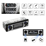 QWASZX Autoradios, Autoradio Bluetooth, Autoradio Bluetooth Freisprecheinrichtung, Autoradio-Player,...