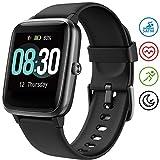 UMIDIGI Smartwatch Fitness Tracker Uwatch3, 5 ATM wasserdichte Smart Watch herrenuhr Armbanduhr...