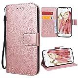 VemMore Kompatibel für Samsung Galaxy S6 Edge Hülle Handyhülle Schutzhülle Leder PU Wallet Flip...