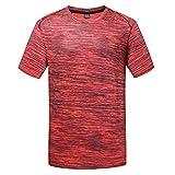 UINGKID Schnelltrocknende Kleidung T-Shirt Bodybuilding-Top Männer Kurzarm Lange Ärmel...