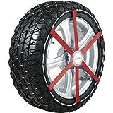 Michelin 92331 Textilschneekette, Easy Grip T13, ABS und ESP kompatibel, TÜV/GS und ÖNORM, 2...