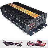 UWSX Auto Wechselrichter Steckdosen 3000W 36V DC bis 220V Wechselrichter Spannungswandler Inverter...