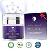 Retinol Feuchtigkeitscreme Creme, Anti-Aging & Anti Falten Creme von HOPEMATE für Gesicht & Augen,...
