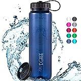 """720°DGREE Trinkflasche """"simplBottle"""" - 1l - Deine Auslaufsichere Wasserflasche - Die..."""