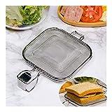 Stuhlkissen Edelstahl Sandwich Maker Backform Brottoaster Frühstücksmaschine Brot Kuchen Werkzeugvase