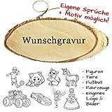 Türschild mit Gravur - Name + Spruch + Motiv möglich - aus Holz mit Kordel, Willkommensschild,...