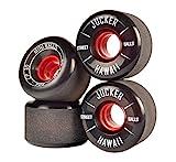 JUCKER HAWAII Longboard Rollen/Wheels STREETBALLS - Mini Balls Black