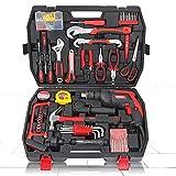 ZoSiP Professionelle Reparatur-Werkzeug-Set Haushalt Hardware Toolbox Set Schlagbohrmaschine...