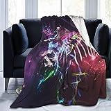 N / A Unisex Blankets,Zebra-Pferdedecken, Druckdecke Für Erwachsene Absolventen,153 x 127cm