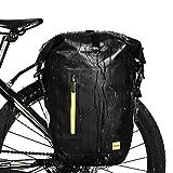 Selighting Gepäckträgertasche von WILDKEN wasserdichte Fahrradtasche Hinterradtasche...