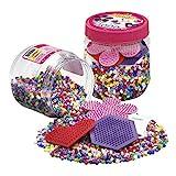 Hama 2051 - Bügelperlen Dose, ca. 4000 Perlen und Zubehör