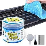 SYOSIN Tastatur Reinigung Auto Reinigungsgel Universeller Staubreiniger für Laptops, Computers, Auto-Entlüftungsöffnungen, Taschenrechner (160g)