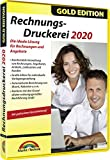 Rechnungsdruckerei 2020 Gold Edition Rechnungen, Lieferscheine, Angebote, Mahnungen Artikel...