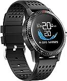 Smartwatch Blutdruck Fitness Armbanduhr mit Pulsuhren IP68 Wasserdicht Smart watch Fitness Uhr...