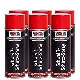 6 Dosen VIKON Schweißschutz-Spray (silikonfrei) 400 ml