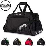 Stanno Sporttasche mit Handyfach und viel Volumen | Trainingstasche für Erwachsene und Kinder-...