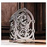 QKKJ Mechanisches 3D-Metall-Timer-Puzzle, Schwieriges 62pc3D-Puzzle