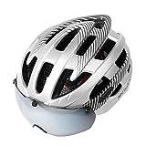 TLZR Sport Fahrradhelm Mountainbike Magnetische Saugbrille Helm Männer und Frauen Rennrad...