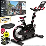 Sportstech Elite Indoor Cycle Bike – Deutsche Qualitätsmarke - Video Events & Multiplayer APP,...