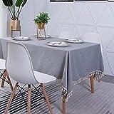 LMDY Home Decoration Tischdecke Rechteckige Couchtischdecke Multifunktionale Decke Stoff Fransen...