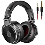 Over Ear Kopfhörer OneOdio DJ Kopfhörer mit Kabel Adapter Frei Geschlossene Studio Kopfhörer mit...