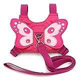 Sicherheitsgurt, Sicherheitsgeschirr für Babys und Kleinkinder mit Schmetterlingsflügeln, in pink,...