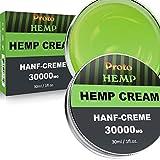 ProtoHemp natürlichen Hanf Creme - Hanfbalsam für Rücken, Knie, Hände, Nacken, Füße, Wundsein, Entzündungen, Gelenke - Reiner Hanf-Aktivgel, 10% Emu-Öl