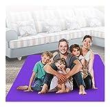 QWERTYU LIFUQIANGME Training Mat Oversize Doppel Yoga Mat Massage Erweiterung 200 cm x 130 cm x 15...
