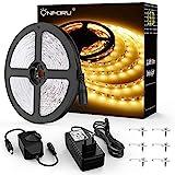 Onforu 10M LED Strip Dimmbar, LED Streifen 600 LEDs Lichtband Stripes 3000K Warmweiß, Selbstklebend...