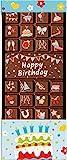 Weibler Confiserie Geschenkpackung Tafel mit Gruß Happy Birthday 70 g