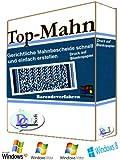 TopMahn Barcode gerichtliches Mahnverfahren