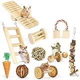 REFURBISHHOUSE Hamster Kau Spielzeug, Natur Holz Kiefer Meerschweinchen Ratten Chinchillas Spielzeug...