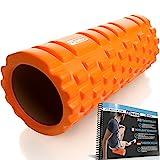 FIT NATION Faszienrolle - Foam Roller Set zur Selbstmassage mit Übungsbuch - Sport Massagerolle...
