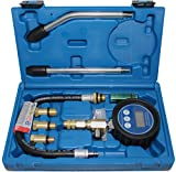 BGS 8980   Digital-Kompressionstester für Benzinmotoren   7-tlg.   Kompressionsprüfer-Satz   Kompressionsmesser   Testgerät