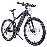 NCM Moscow Plus E-Bike, E-MTB, E-Mountainbike 48V 16Ah 768Wh (27,5' Plus, Schwarz)