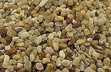 25 kg Aquariumsand Aquariumkies natur beige gerundet und feuergetrocknet (2,0 - 3,15mm)