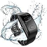 LEDLXK Intelligente Uhr Für Ältere Menschen Anti Verlorene GPS-Ortung SOS Notruf Telefonfunktion &...