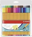 Fineliner - STABILO point 88 - 40er Pack - 40 Farben