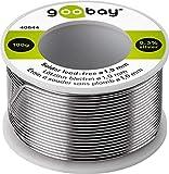 Goobay 40844 Lötzinn bleifrei; ø 1, 0 mm, 100 g Markenlötzinn mit einem Silberanteil (Ag) von 0,...