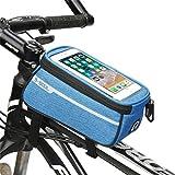 HJJGRASS Handyhalterung Fahrrad Aufbewahrungstasche Fahrrad Rahmentasche, Fahrradrahmen Handyhalter,...