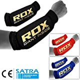 RDX Unterarmschutz Kampfsport Gepolsterten Stützbandage Bandage Ellenbogen Compression(MEHRWEG)