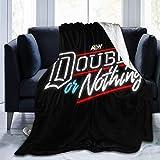Just life Fleece Decke AEW All Out Bettwäsche Mikrofaser Leichtes Sofa Warme Yogamatten Superweiche gemütliche Decken werfen