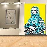 wukongsun Moderne Mona Mural Kunst für Wohnzimmer Wand Poster und drucke für kinderzimmer...